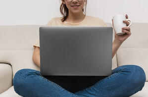 woman-working-from-her-laptop