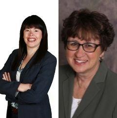 Melissa Worrel-Johnson and Ann Wright